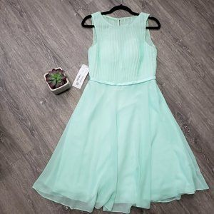 Azazie Miriam Mint Green Dress Bridesmaid Party 6